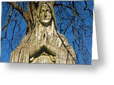 I'll Just Blend In - Hail Mary  Greeting Card