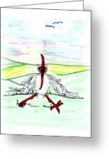 I'll Never Fly Again Greeting Card