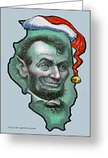 Illinois Christmas Greeting Card