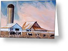 Illinois Farm Greeting Card