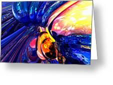 Illuminate Abstract  Greeting Card