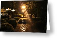 Illuminated Retreat Greeting Card