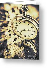 Illusive Time Greeting Card