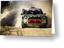 imagejunky_KB - RallyRACC WRC Spain - Gorban / Larens Greeting Card