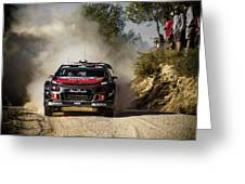 imagejunky_KB - RallyRACC WRC Spain - Lefebvre / Patterson Greeting Card