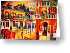 Images Of The French Quarter Greeting Card