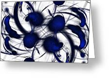 Imagination On Canvas Greeting Card