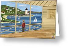 Imagine Greeting Card by Anne Klar