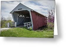 Imes Covered Bridge 2 Greeting Card