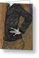 img804 Egon Schiele Greeting Card