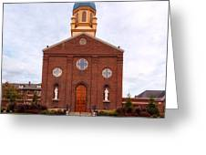 Immaculate Conception Chapel - University Of Dayton Greeting Card