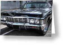 Impala - Supernatural Greeting Card