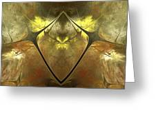 Imperial Topaz Greeting Card