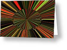 Implosion Greeting Card