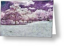 Impresionist Garden Greeting Card