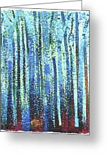 Impression Of Trees Greeting Card
