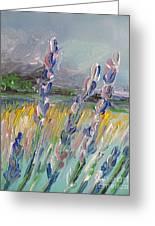 Impressionism Fantasy Field Greeting Card