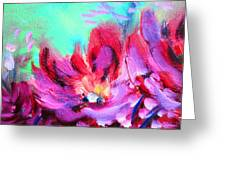 Impressionism Flowers Greeting Card