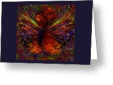 Impressionist Butterfly Greeting Card