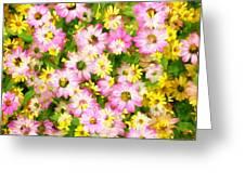 Impressionist Floral Ix Greeting Card