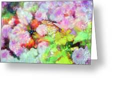 Impressionist Floral Xxxi Greeting Card