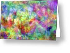 Impressionist Floral Xxxii Greeting Card