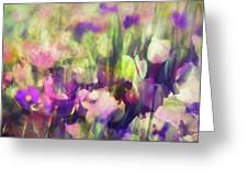 Impressionist Floral Xxxvi Greeting Card