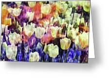Impressionist Floral Xxxvii Greeting Card