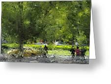 Impressionist Series #1 Greeting Card