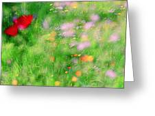 Impressionistic Blossom 5 At Britain Park Greeting Card