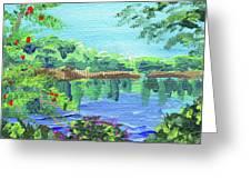 Impressionistic Landscape Xx Greeting Card