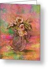 Impressionistic Still Life  Greeting Card