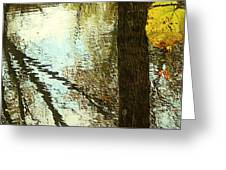 Impressions Of A Ny Fall Greeting Card
