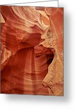 Impressions Of Antelope Canyon 1 Greeting Card