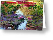 Impressions Of Summer Colors Greeting Card