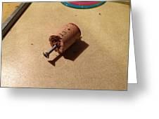 Improv Corkscrew Greeting Card