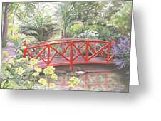 In Abbotsbury Subtropical Gardens. Greeting Card