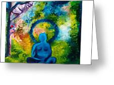 In Abode Of Soul  Greeting Card