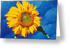 In All Its Glory Greeting Card