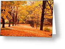 In Autumn Greeting Card