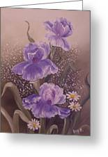 In Bloom Greeting Card by Betty Franz