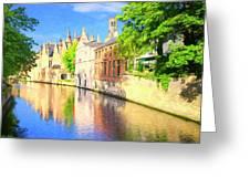 In Bruges Greeting Card