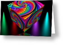 In Different Colors Thrown -4- Greeting Card by Issabild -