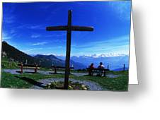 In Gods Country Greeting Card