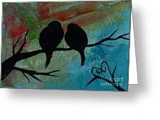 In Love Iv Wr Greeting Card