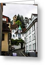 In Lucerne  Greeting Card