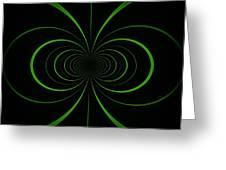 Spiraling Through Time Greeting Card