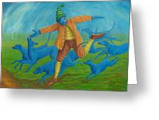 In Pursuit Of Anything. Greeting Card