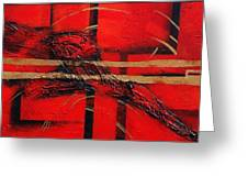 In Red Greeting Card