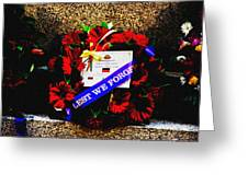 In Remembrance 5th Battalion Greeting Card